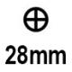 Картридж 28 мм